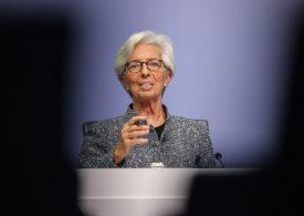 Икономиката на ЕС преживява колосален спад, заяви Кристин Лагард