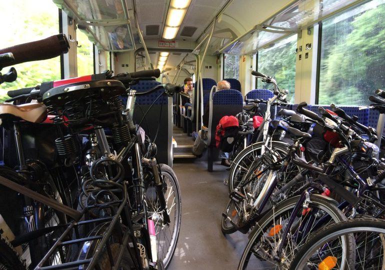 Велосипеди и влакове - бъдещето на екопътуванията