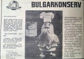 Bulgarkonserv exportiert: Kompotte, Konfitüren…