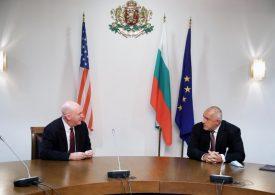 Борисов обсъжда стратегическото партньорство с помощник държавния секретар на САЩ