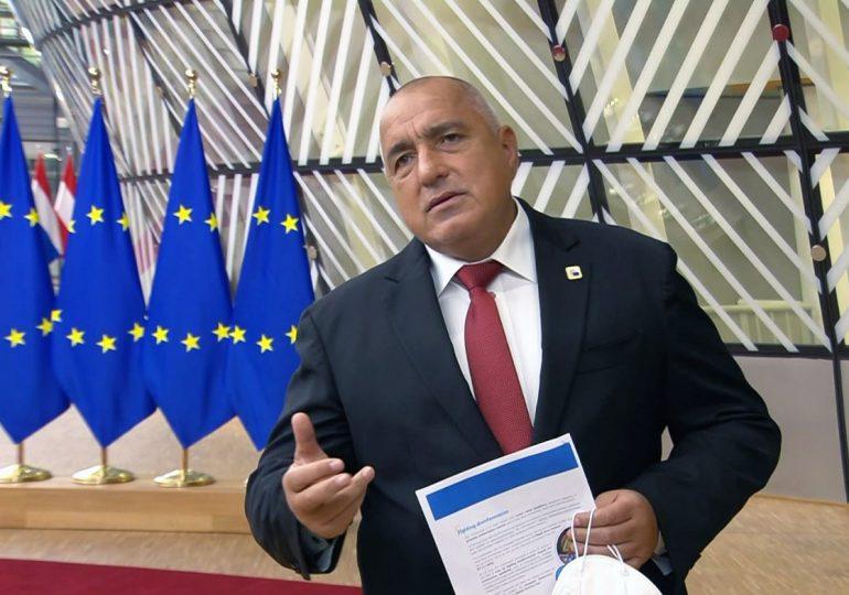 Карантината става 10 дни, съобщи Борисов в Брюксел