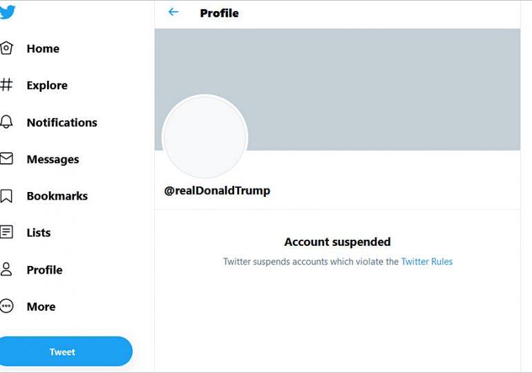 Туитър със 7% спад на акциите си след банването на Тръмп