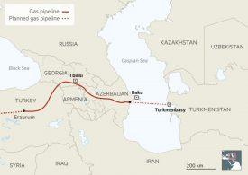"""За газовата тръба – """"гордиев възел"""" в Каспийския регион"""