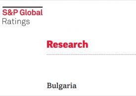 Standard & Poor's потвърди рейтинга на България, но отбелязва бавния темп на ваксинация