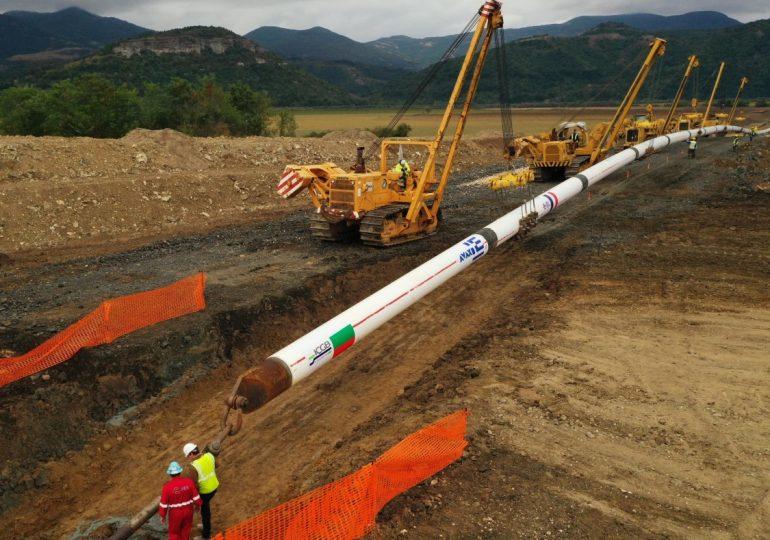 Строежът на газовата връзка с Гърция очаква пореден транш от еврокредита