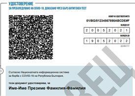Готов е новият зелен сертификат за преболедували ковид